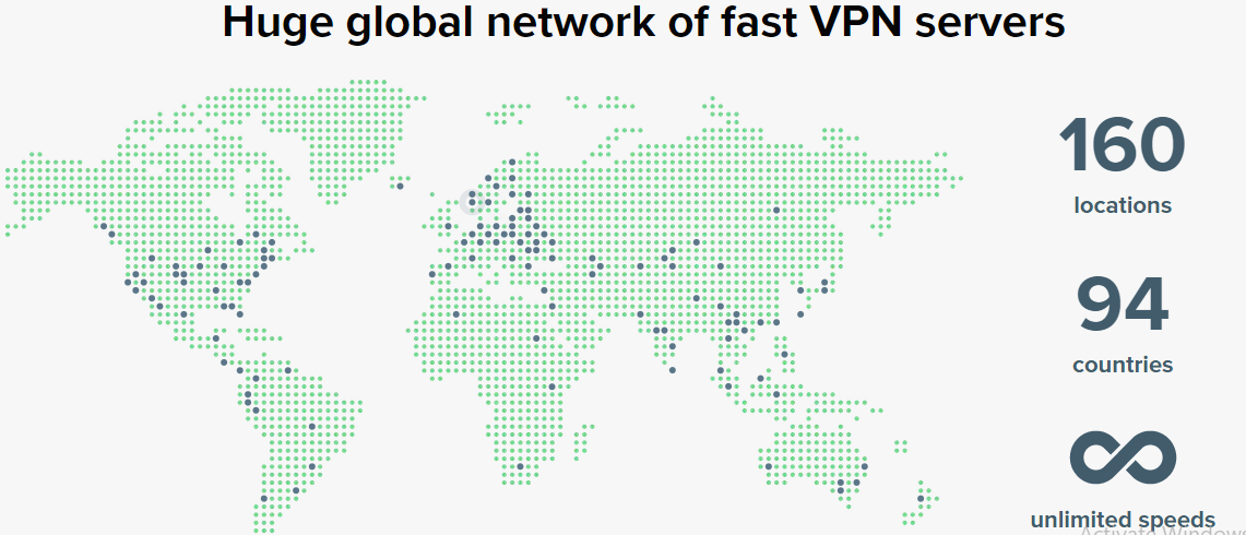 Expressvpn server across 160 locations