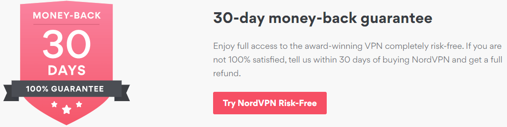 Nordvpn 30 Days Money Back Gurantee