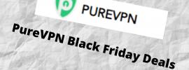 pureVPN deals Black Friday offer